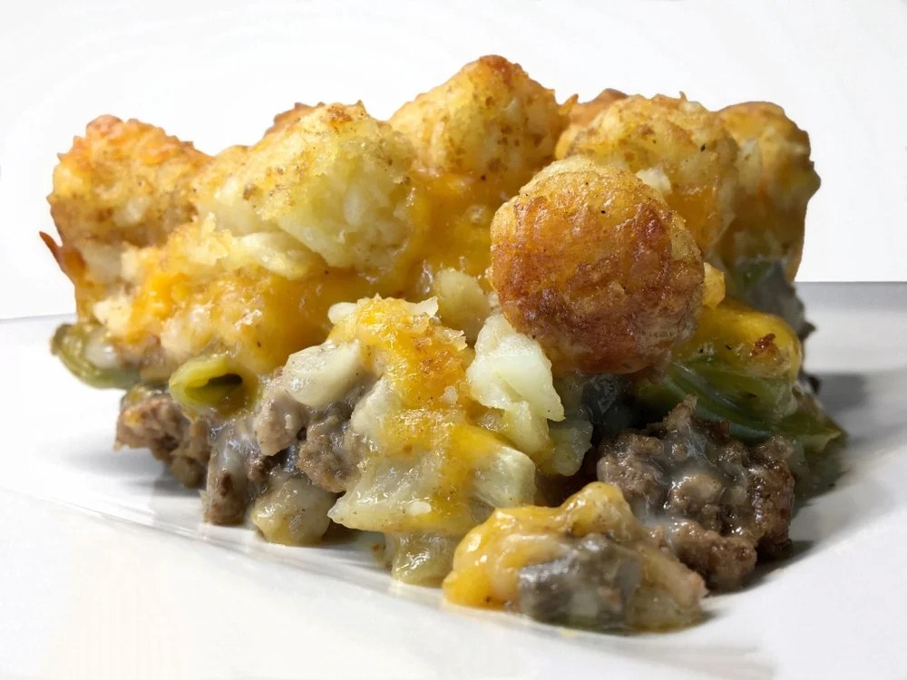 Tater Tot Casserole Recipe Kitchen Fun With My 3 Sons