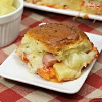 Hawaiian Pizza Sliders Recipe