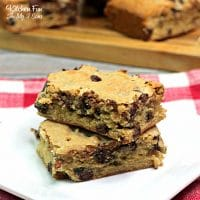 Chunky Monkey Brownies with mashed bananas and chocolate chips come together in this recipe for rich, delicious dessert.