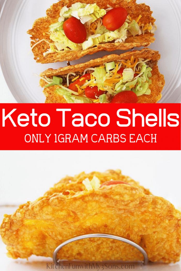 Baked keto taco shells tutorial
