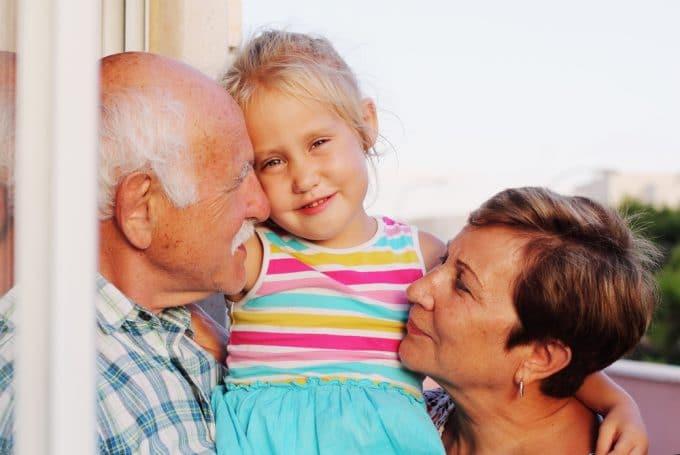 Children Are Happier Living Near Grandparents