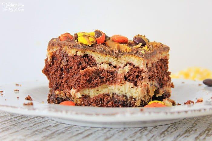 How To Make Cheesecake Brownie.