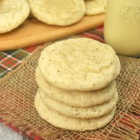 The Best Eggnog Cookies - Soft and Chewy