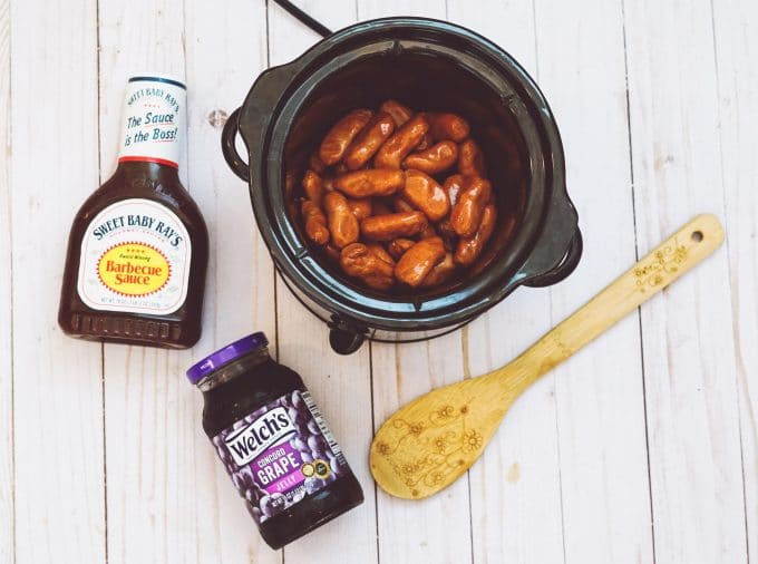 3-Ingredient Crockpot Little Smokies