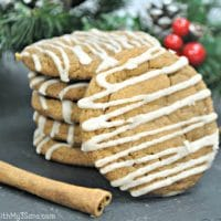 Ginger Maple Cookies