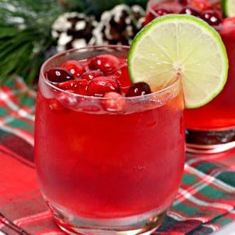 Cranberry Margarita for the Holidays