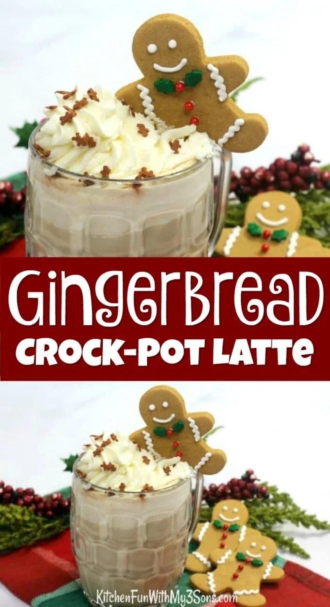 Gingerbread Crockpot Latte