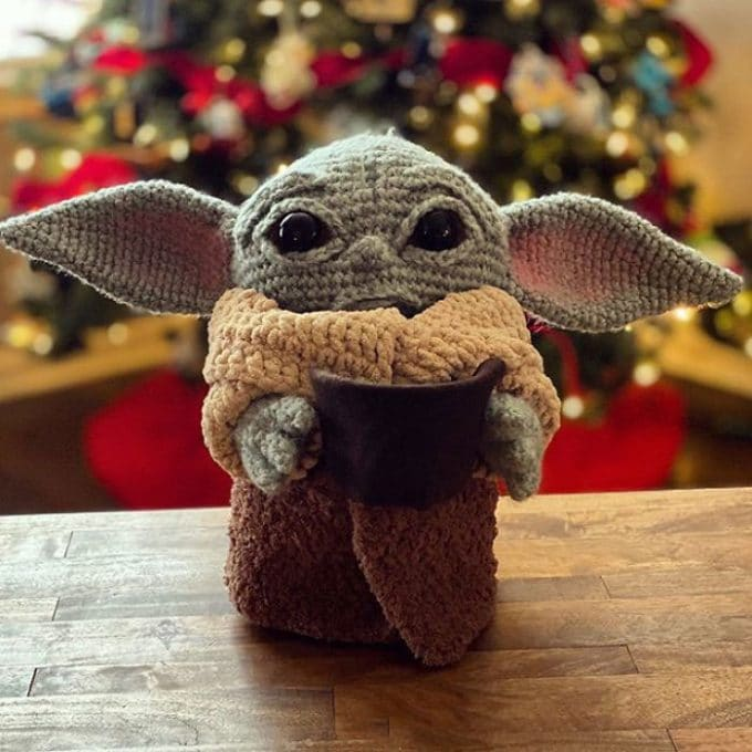 Crochet Baby Yoda Amigurumi That You Can Make Yourself