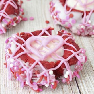 Thumbprint Cookies for Valentine's Day
