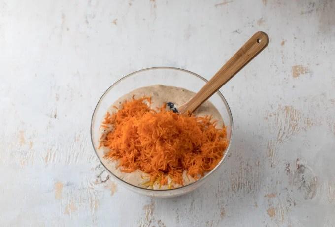 Shredded Carrots