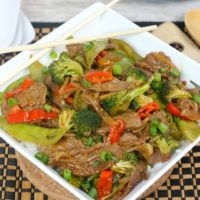 Instant Pot Beef Stir Fry Recipe