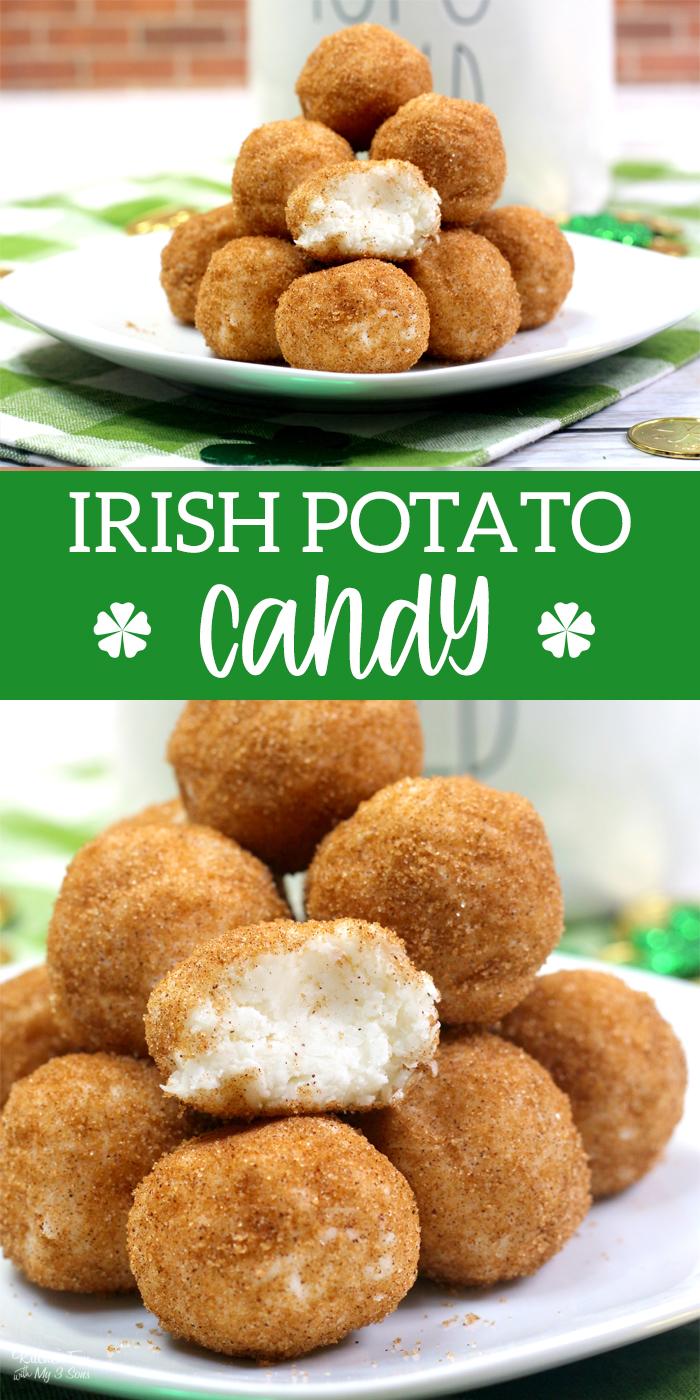 Irish Potato Candy Collage