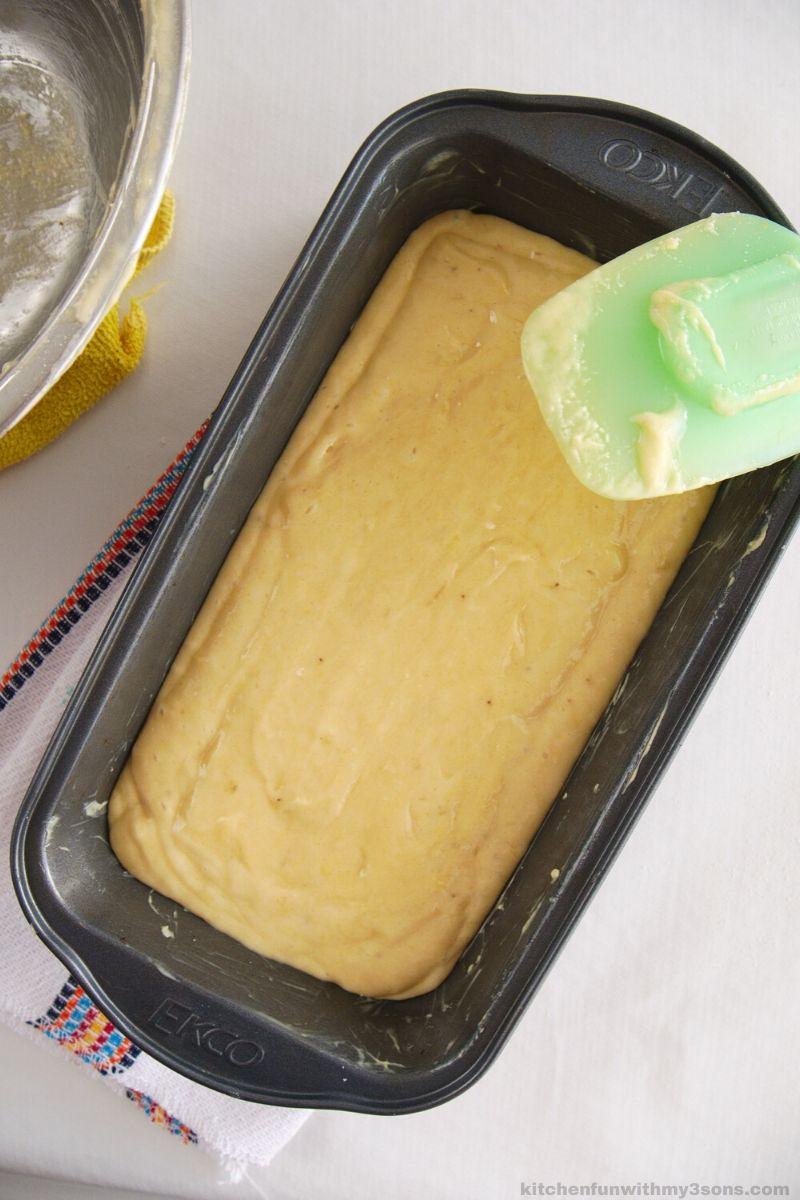 banana bread batter