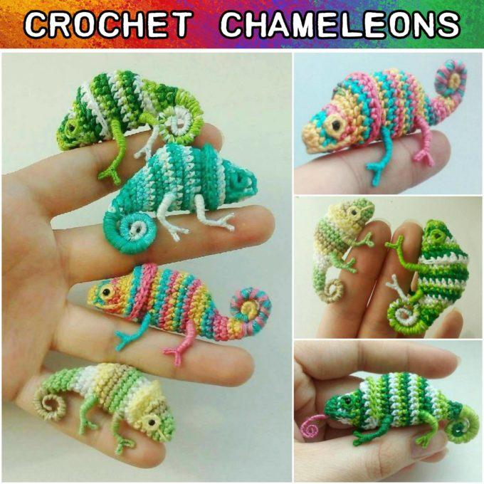 Crochet Chameleons