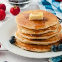 The Best Fluffy Pancakes with Make-Ahead Pancake Batter
