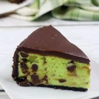 Instant Pot Mint Chocolate Cheesecake