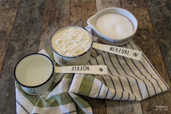 Salt Dough Ingredients