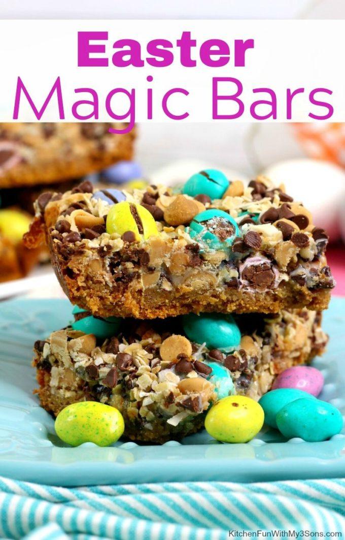 Easter Magic Bars