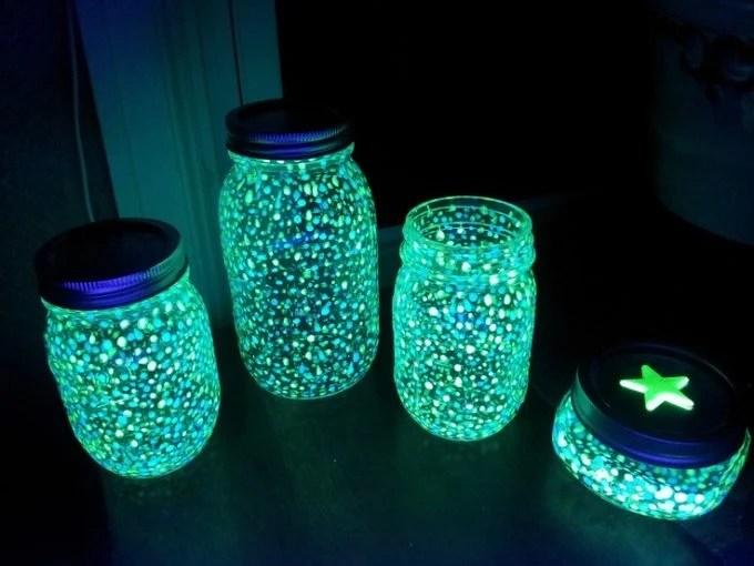 Fairy Lantern Mason Jars