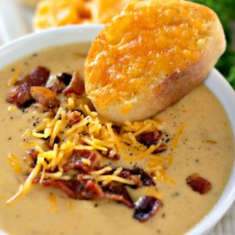 Bacon Beer Cheese Soup