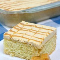 Caramel Tres Leches Three Milk Cake