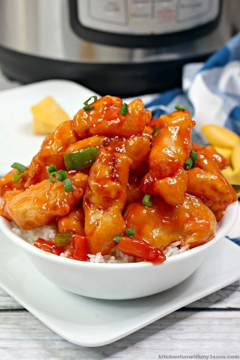 Sweet and Sour Chicken Instant Pot Recipe
