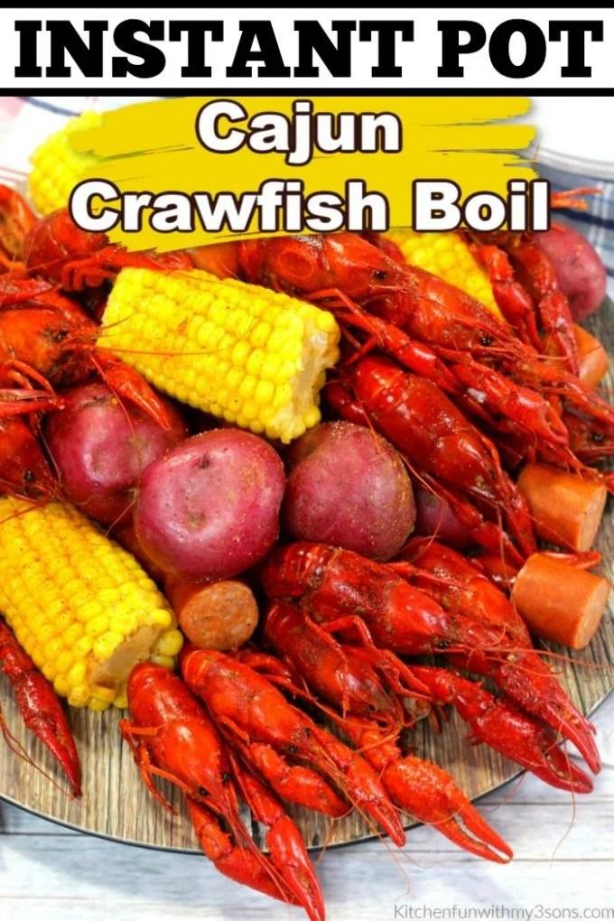 Instant Pot Cajun Crawfish Boil