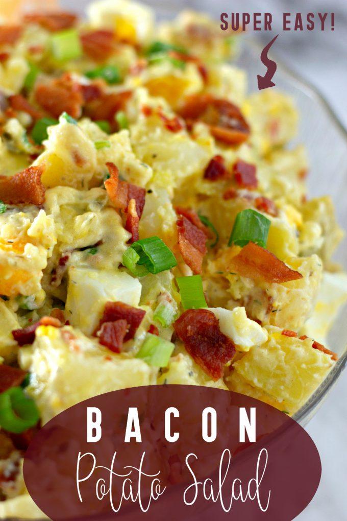 Bacon Potato Salad Recipe on Pinterest