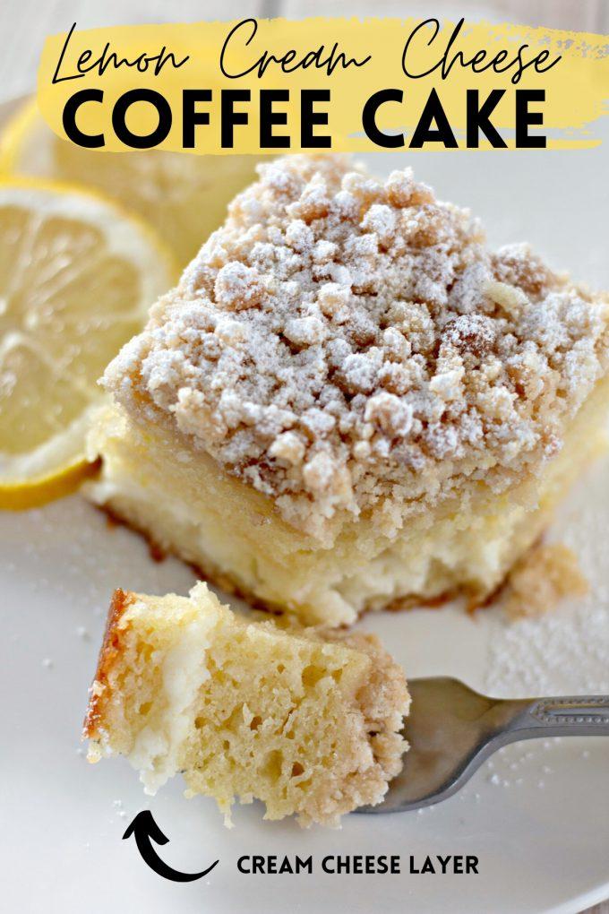 Lemon Cream Cheese Coffee Cake on Pinterest