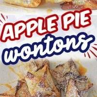 Apple Pie Wontons