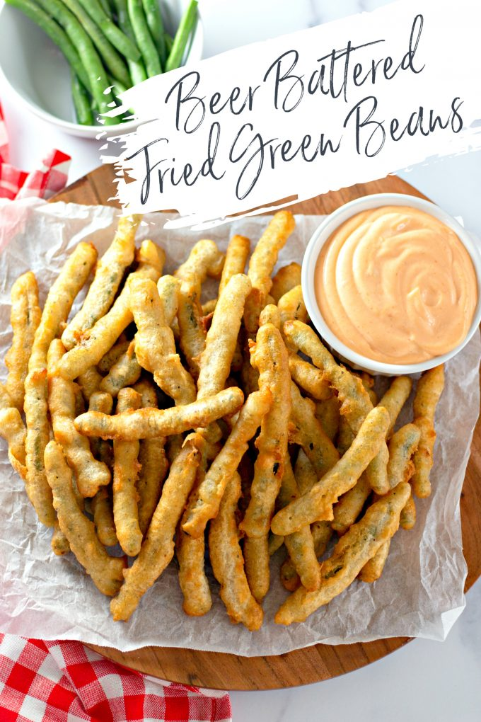 Beer Battered Fried Green Beans on Pinterest