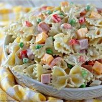 Creamy Bow Tie Pasta Salad