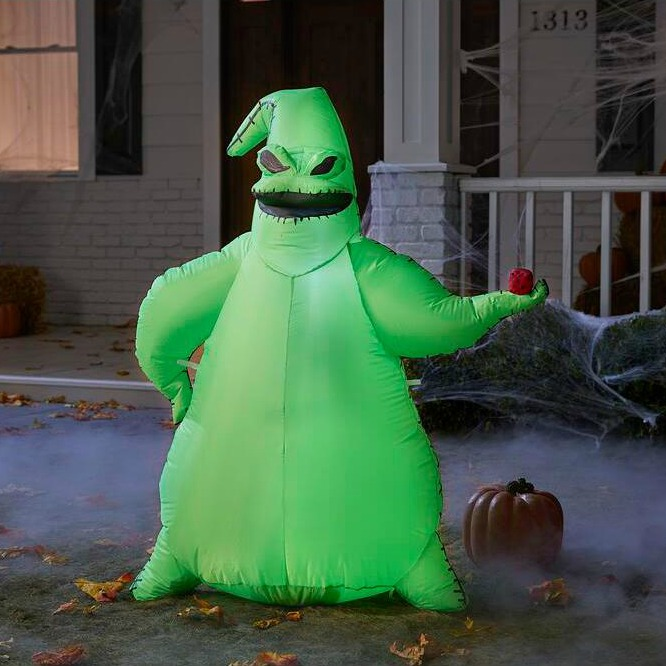 10.5-Foot Disney Oogie Boogie Inflatable for the Nightmare Before Christmas Fans