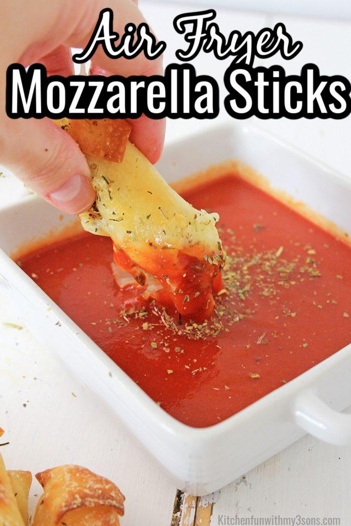 Air Fryer Mozzarella Sticks
