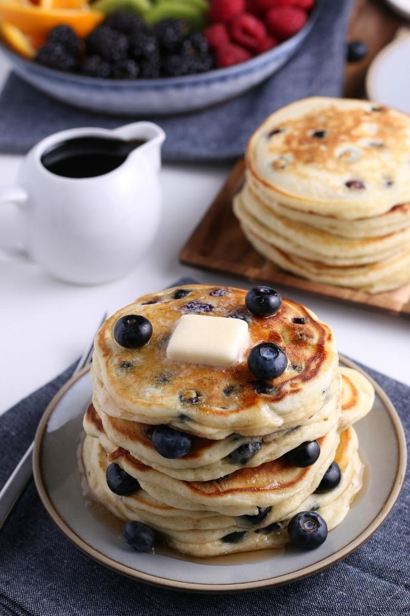Best Blueberry Pancakes Recipe