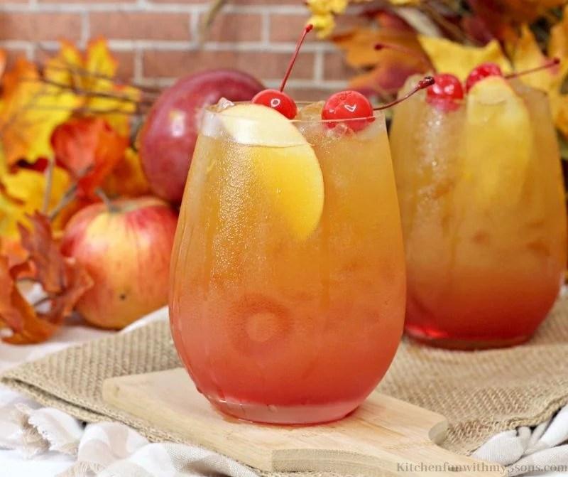 Apple Cherry Cocktail