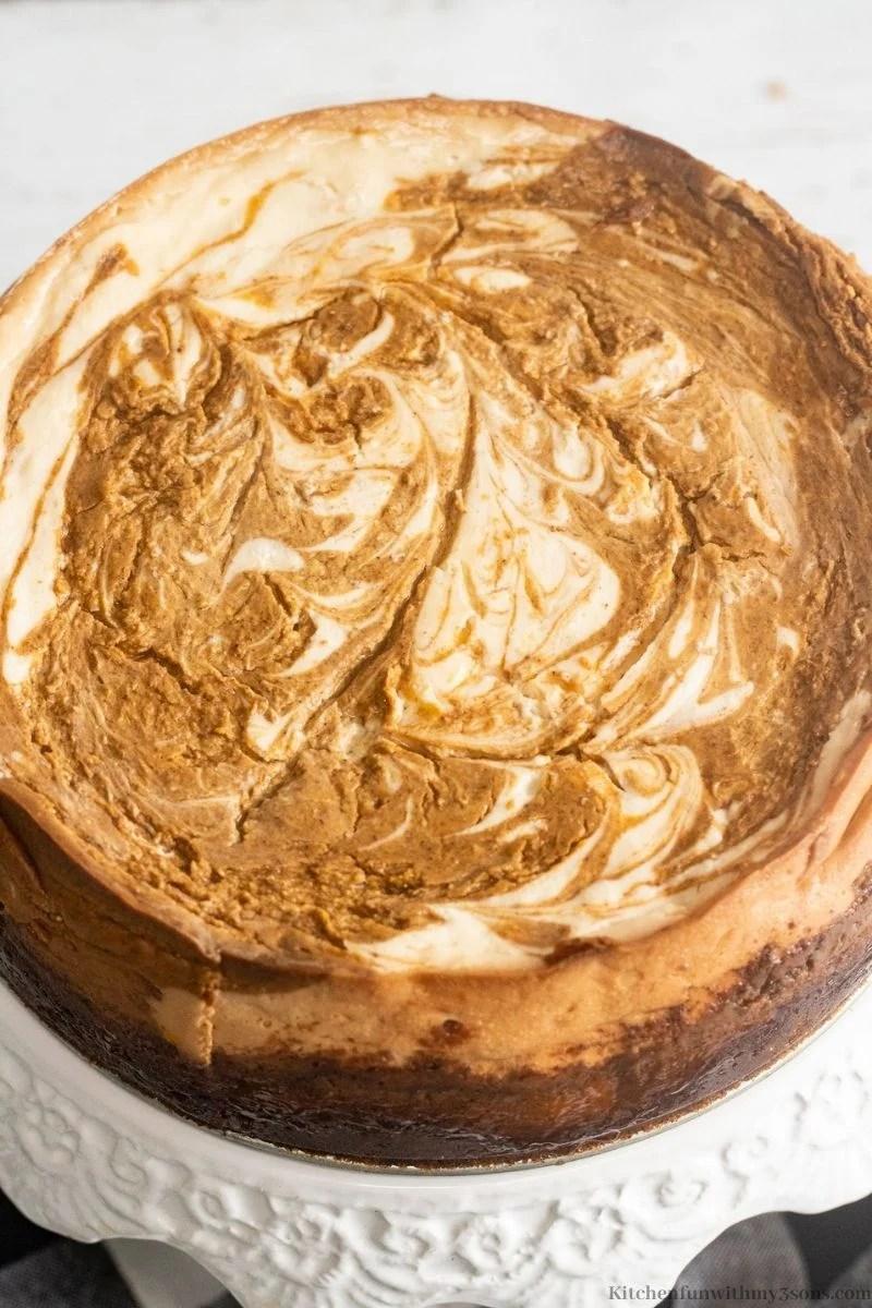Best Ever Pumpkin Cheesecake Recipe
