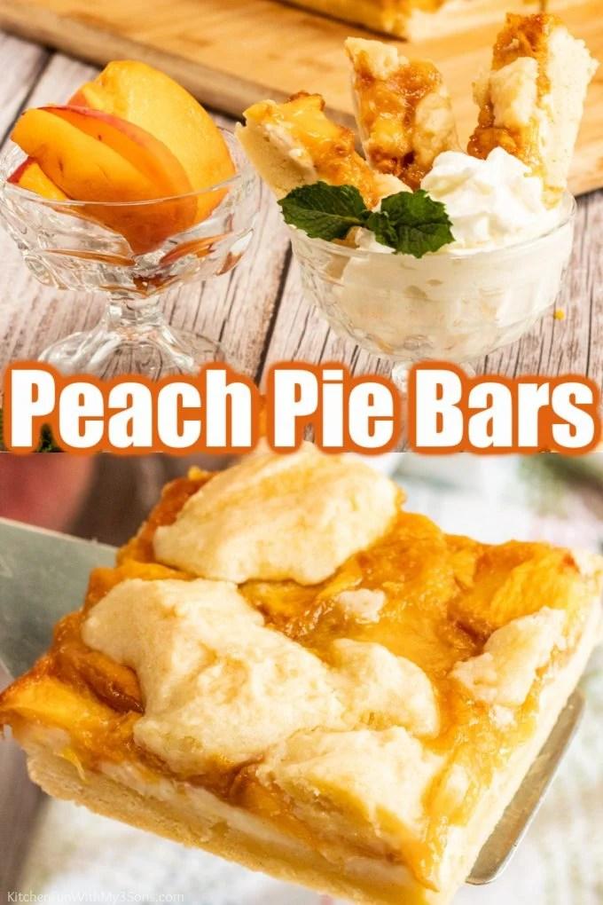Peach Pie Bars