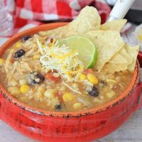 Tex Mex Instant Pot Chicken and Rice Soup