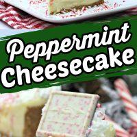Ghiradelli Peppermint Cheesecake