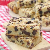 Toffee Cookie Bars