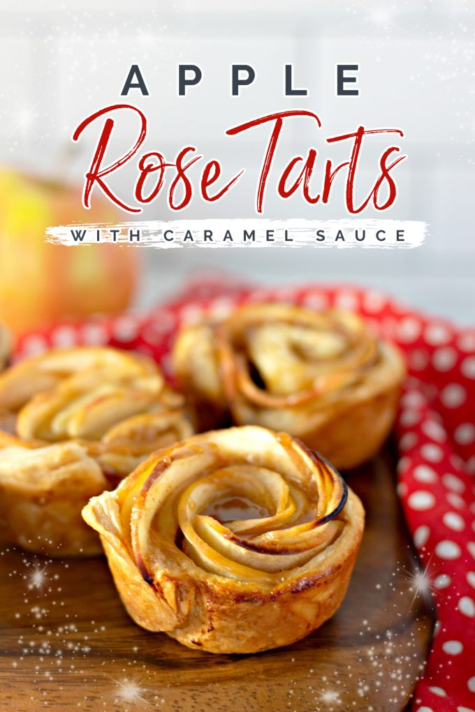 Caramel Apple Rose Tarts on Pinterest