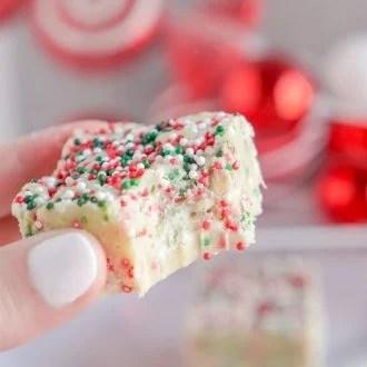 Christmas Cookie Fudge