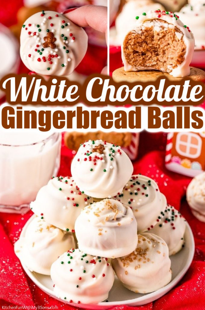 White Chocolate Gingerbread Balls