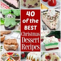 40 of the BEST Christmas Desserts