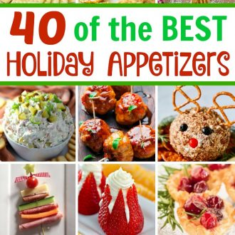 40 of the BEST Christmas Appetizers