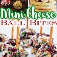 Mini Cheese Ball Bites