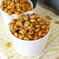 Taco Seasoned Oyster Crackers (Air Fryer)