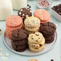 Cake Mix Cookies (3 ways)