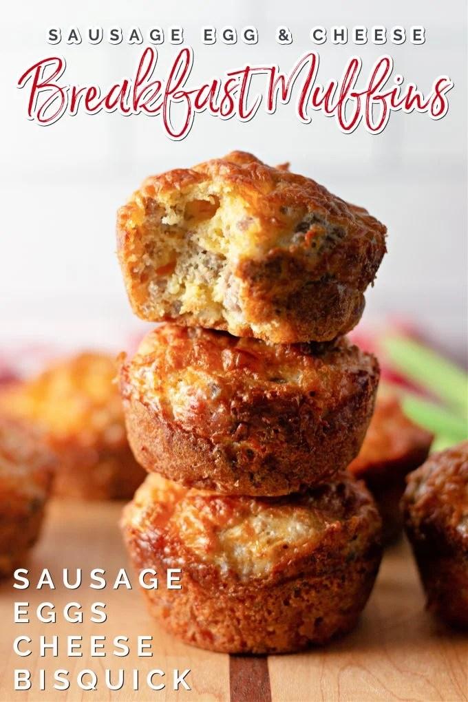 Sausage Breakfast Muffins on Pinterest